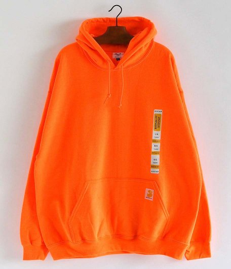 SECOND LAB NYC SWEAT HOODIE [ORANGE]