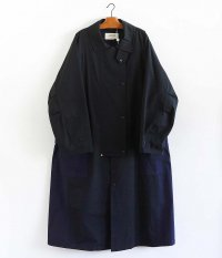 ANACHRONORM Cowboy Trench Coat [BLACK]