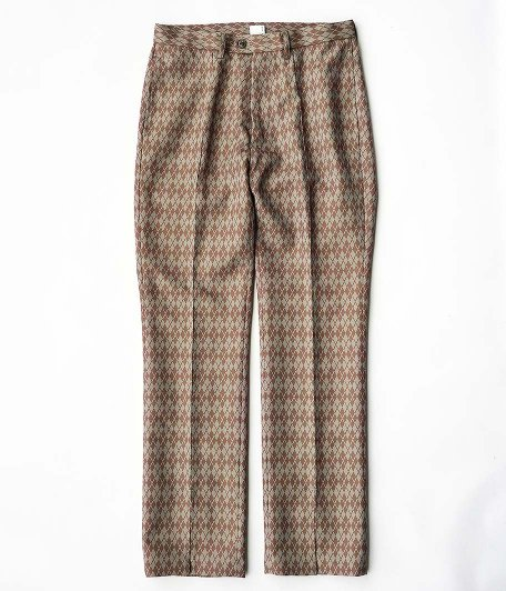 KAIKO SLIT PREST ARGYLE [BROWN]