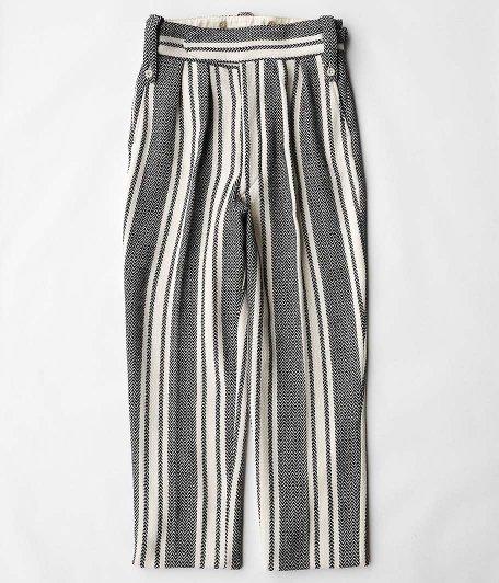 NEAT Cotton Mexican Beltless [BLACK × WHITE]
