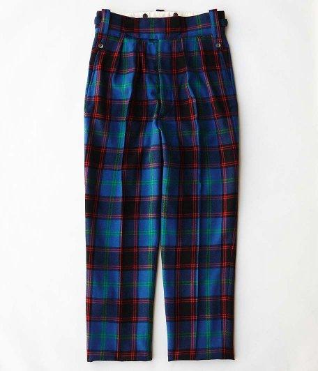 NEAT Wool Multi Check Beltless [BLUE MULTI]