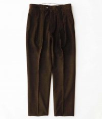 NEAT Wool / Cotton Corduroy TAPERED [BROWN]