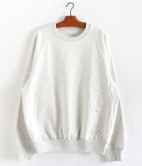 tone BASIC SWEAT SHIRT [ASH GRAY]