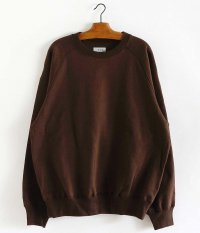 tone BASIC SWEAT SHIRT [BROWN]