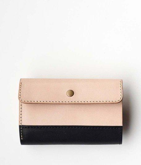 BRASSBOUND Snap Wallet [BLACK×NATURAL]
