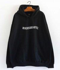 NEMES RIVERSIDE HOTEL HOODIE [BLACK]