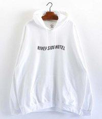 NEMES RIVERSIDE HOTEL HOODIE [WHITE]