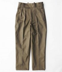 NEAT Cotton Pique Beltless [KHAKI]
