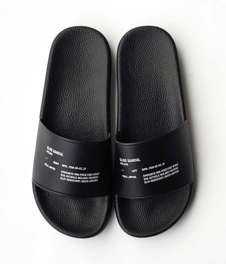 Fresh Service SLIDE SANDAL [BLACK]