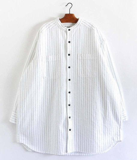 DRESS Nonstandard Shirt [WHITE]