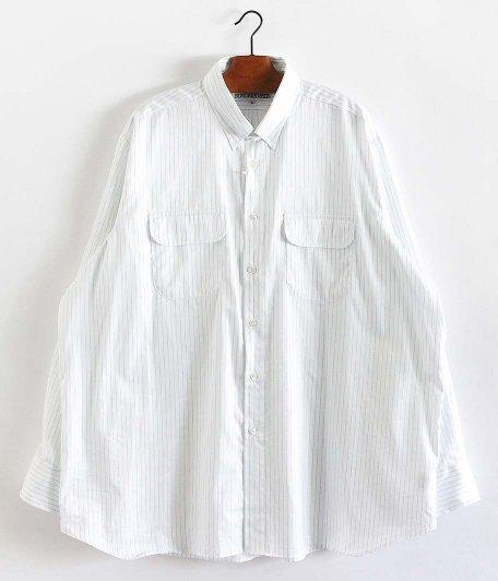DRESS Officer Tab Collar Shirt [WHITE]
