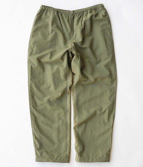 RAJABROOKE Nylon Chambray Pants [OLIVE]