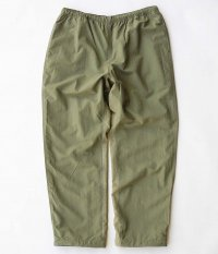 RAJABROOKE Nylon Chambray Pants [OLIVE]