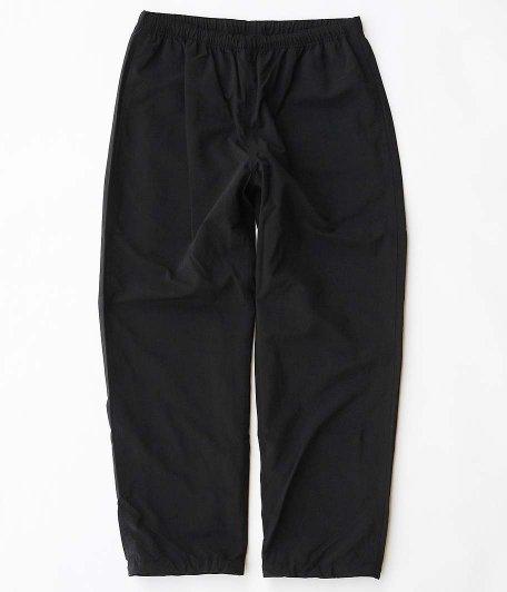 RAJABROOKE Nylon Chambray Pants [BLACK]