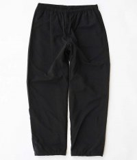 RAJABROOKE Nylon Chambray Pants [BLACK]