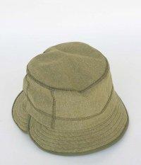 rajabrooke Nylon Chambray Hat [OLIVE]