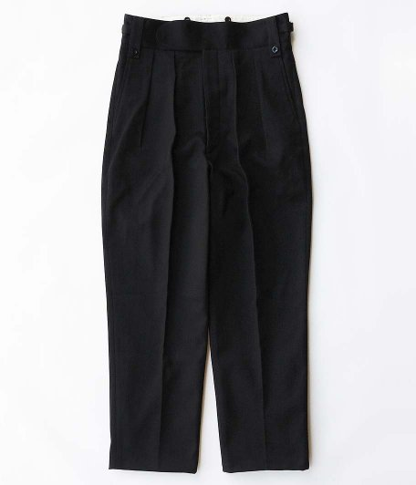 NEAT Cotton Pique Beltless [BLACK]