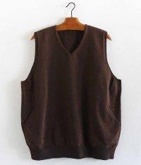 crepuscule Wholegarment Vest [BROWN]