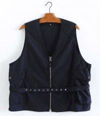KAPTAIN SUNSHINE Belted Vest [BLACK]