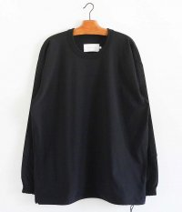 CURLY KIPS LS TEE [BLACK]