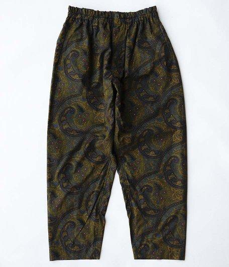 KAPTAIN SUNSHINE Athletic Easy Pants [DARK PAISLEY]
