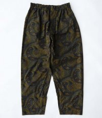 KAPTAIN SUNSHINE Athletic Easy Pants [DARK PAISLEY]