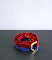 Bedlam Gimmicks D-ring Belt [BLUE/RED]