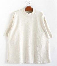 tone Mock Neck SS Shirt [OATMEAL]