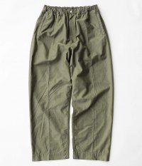 NECESSARY or UNNECESSARY PIN TUCK [OLIVE]