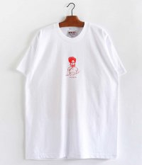 SOWBOW MAGGIE Tシャツ  [WHITE / RED]