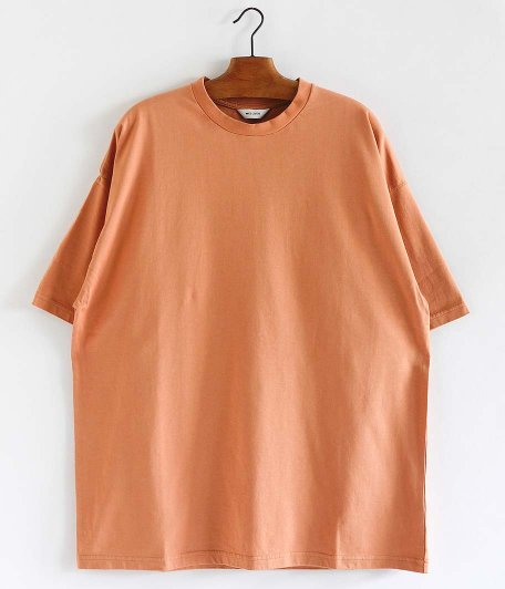 WELLDER Wide Fit T-Shirts [APRICOT]