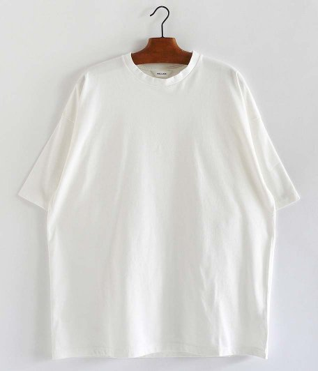 WELLDER Wide Fit T-Shirts [WHITE]