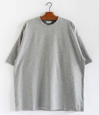 WELLDER Wide Fit T-Shirts [TOP GRAY]
