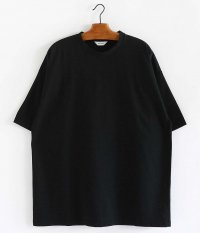 WELLDER Wide Fit T-Shirts [BLACK]