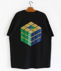 SOWBOW 蒼氓 CUBE S/S Tシャツ [BLACK]
