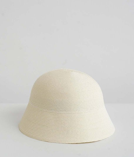 bocodeco for RADICAL Exclusive Paper Braid Sailor Hat [OFF WHITE]
