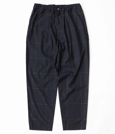 WELLDER Drawstring Easy Trousers [NAVY]