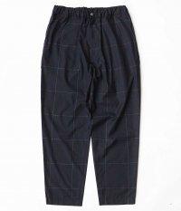WELLDER Drawstring Easy Trousers [NAVY]