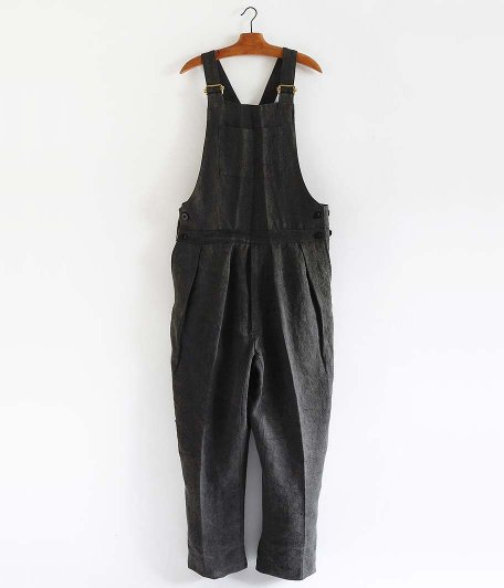 NEAT High density linen japanese paper charcoal dye Overall [BLACK]