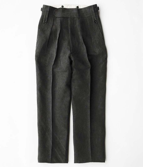 NEAT for RADICAL Exclusive High density linen japanese paper charcoal dye Beltless [BLACK]