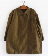 チェコ軍 ヘリンボーンツイルプルオーバーシャツ [Dead Stock]