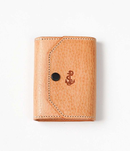 THE SUPERIOR LABOR for RADICAL Exclusive Small Wallet [American emboss leather / NATURAL]