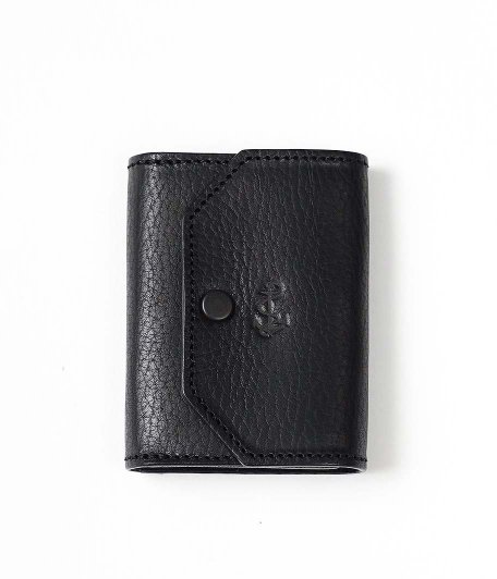 THE SUPERIOR LABOR for RADICAL Exclusive Small Wallet [American emboss leather / BLACK]