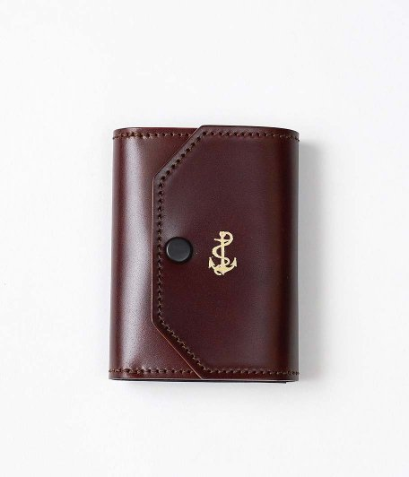THE SUPERIOR LABOR for RADICAL Exclusive Small Wallet [Cordovan / BURGUNDY]