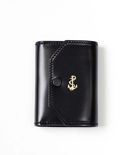 THE SUPERIOR LABOR for RADICAL Exclusive Small Wallet [Cordovan / BLACK]