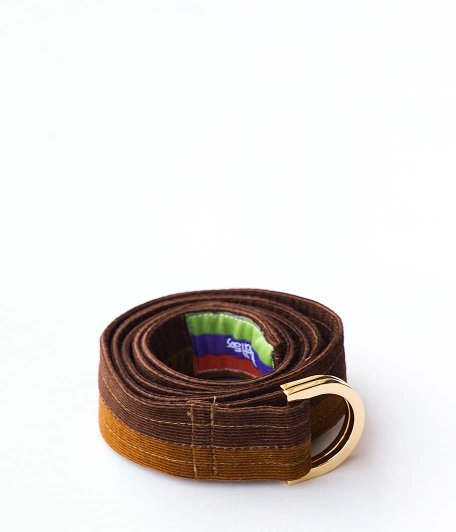 Bedlam Gimmicks D-ring Belt [MIXED BROWNS]