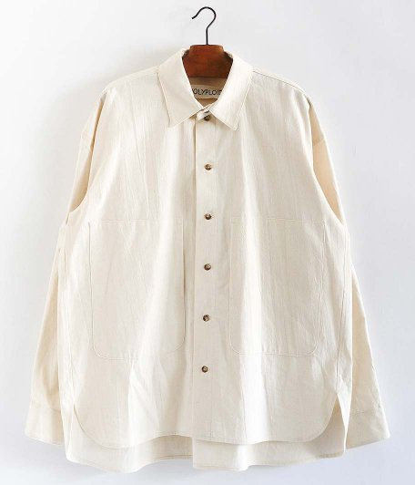 POLYPLOID SHIRT JACKET A [OFF WHITE]