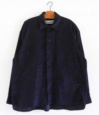 POLYPLOID SHIRT JACKET B [DARK BLUE]