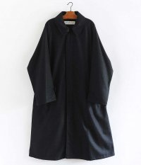 POLYPLOID LONG COAT C [BLACK MELANGE]