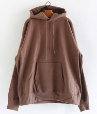 KAPTAIN SUNSHINE Hooded Pullover [FADE BROWN]